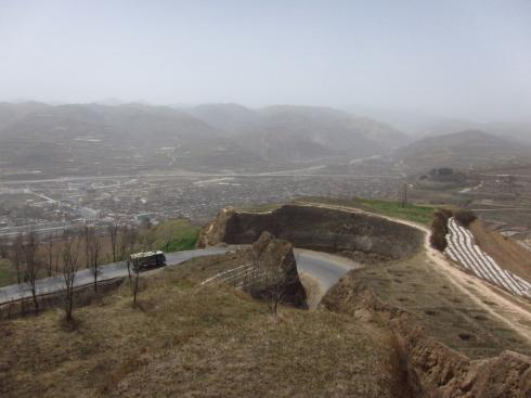 "On the road towards Wushan - begins to ""feel"" like the Silk Road"