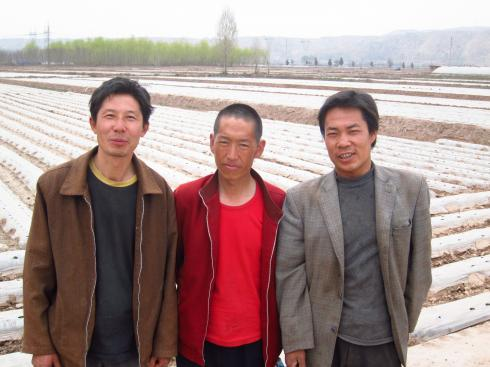 My three agricultural advisors