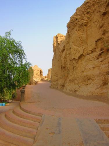 The ancient city of Jiaohe - just outside Turpan
