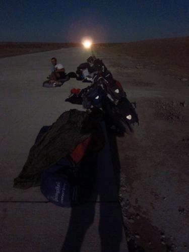 Resting place for a few hours - 170km short of Khiva