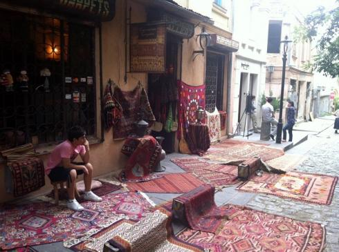 Carpet seller - even in Tbilisi