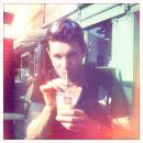 Lecka enjoying his McDonalds