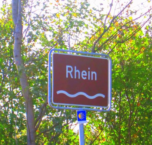 Crossing the Rhine....