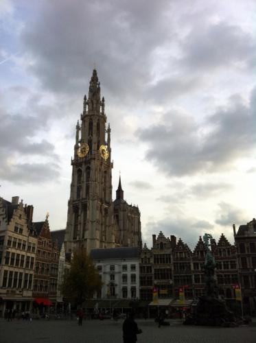 Tower of Cathedral of Our Lady, Antwerp