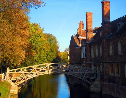 The Mathematical Bridge, Queen's College, Cambridge